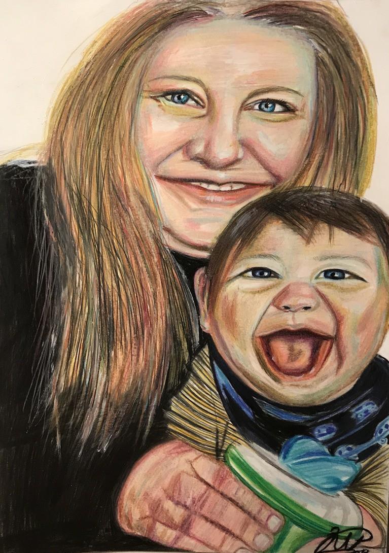 Familie portrett