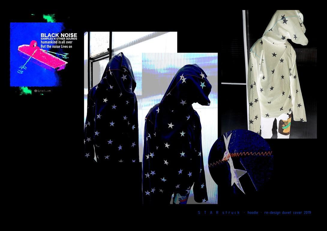 S T A R struck · hoodie · re-design duvet cover 2019