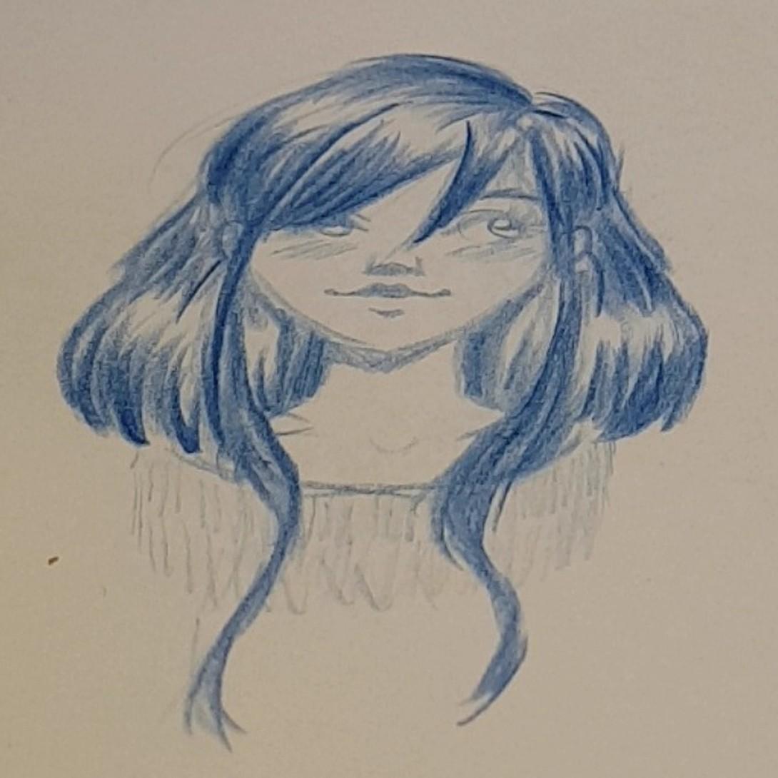 Tegneseriefigur (skisse)