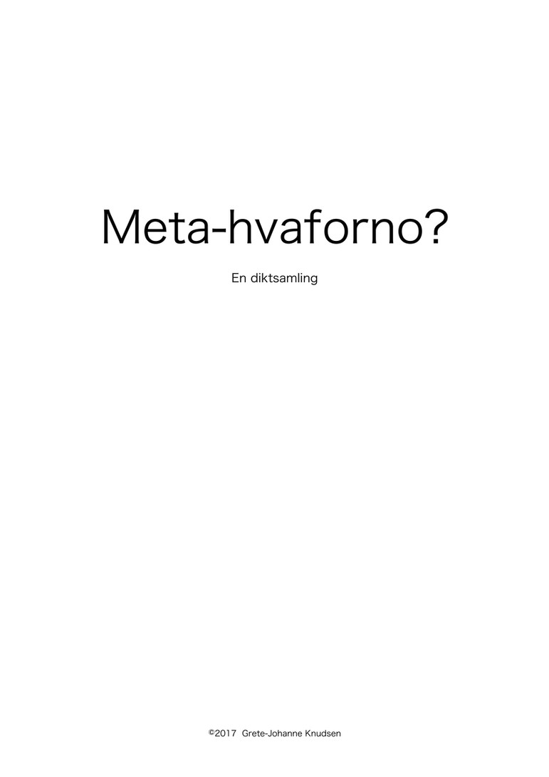 Meta-hvafornoe?