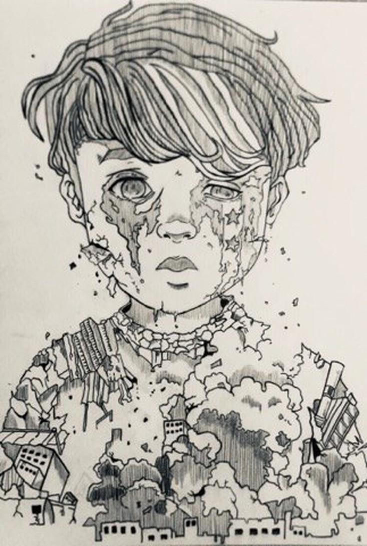Barn med sårhet