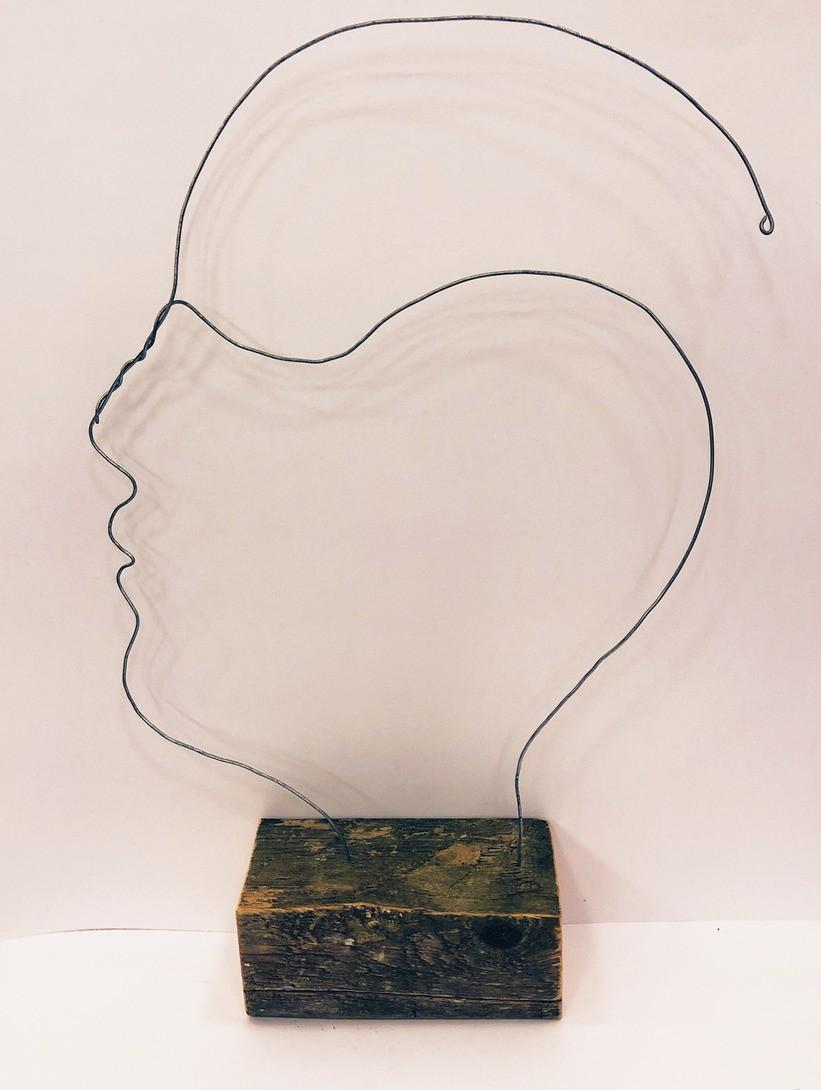 Skulptur i profil