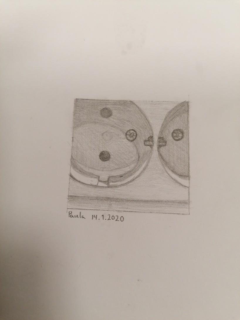 Stikk-kontakt 5x5 cm