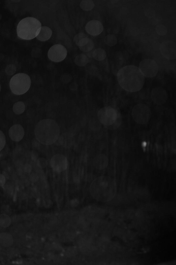 lys bak bobler i natten