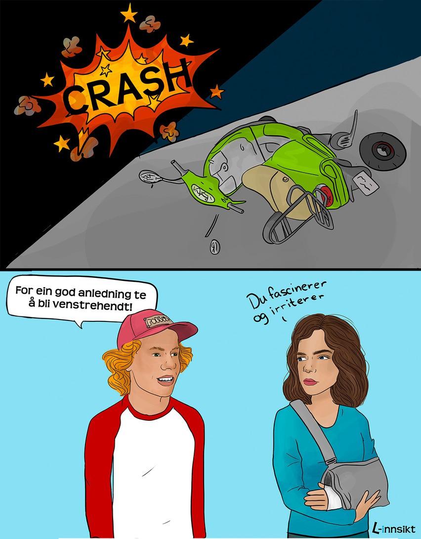 239 - Fascinerer og irriterer moped firkant
