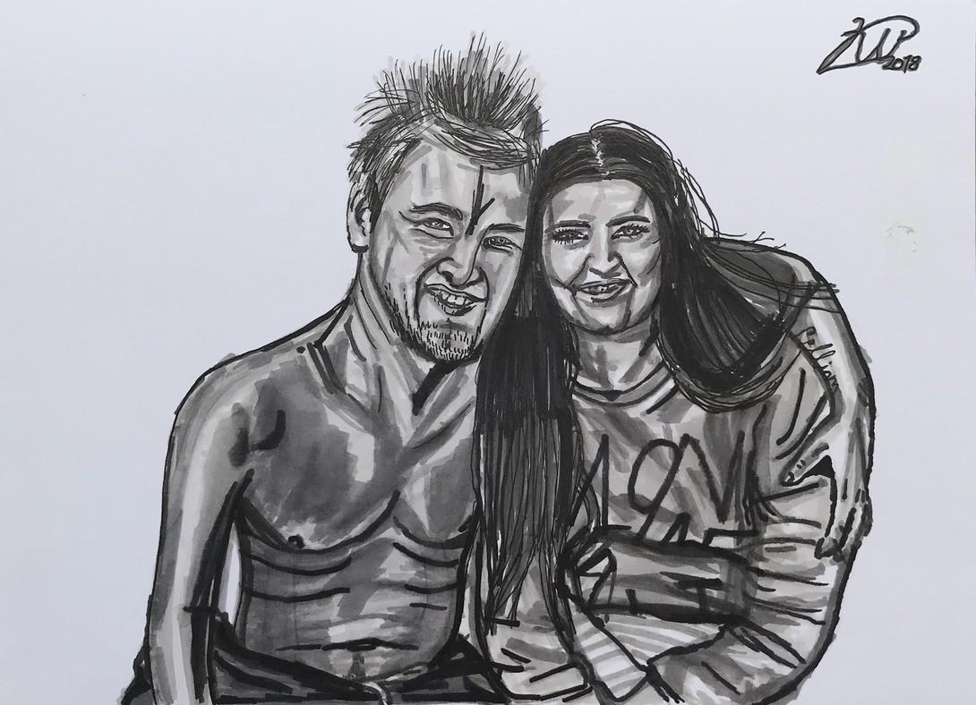 Andreas og Melissa