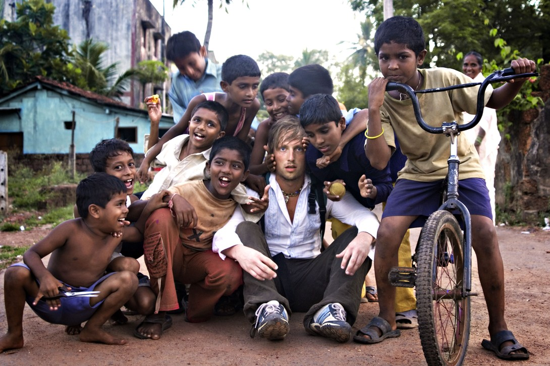 Travelling Bengt - India